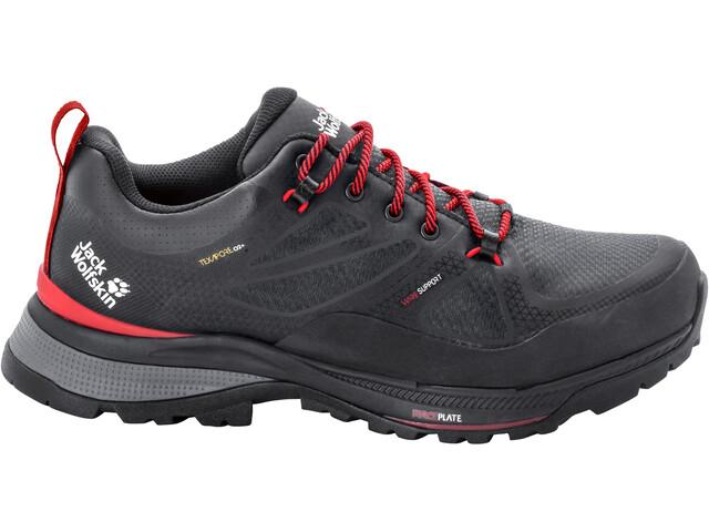 Jack Wolfskin Force Striker Texapore Low Shoes Men phantom/red